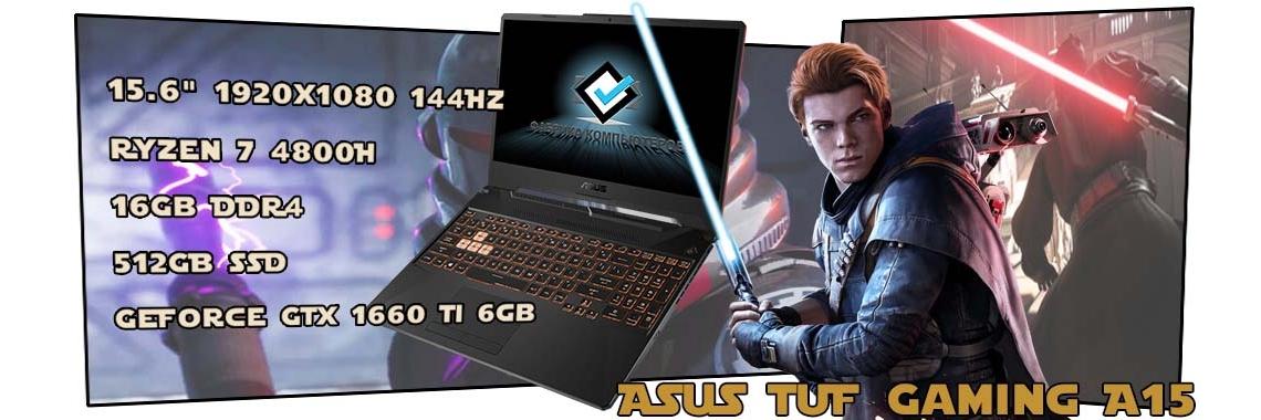 Игровой ноутбук ASUS TUF Gaming A15 FA506IU-AL006