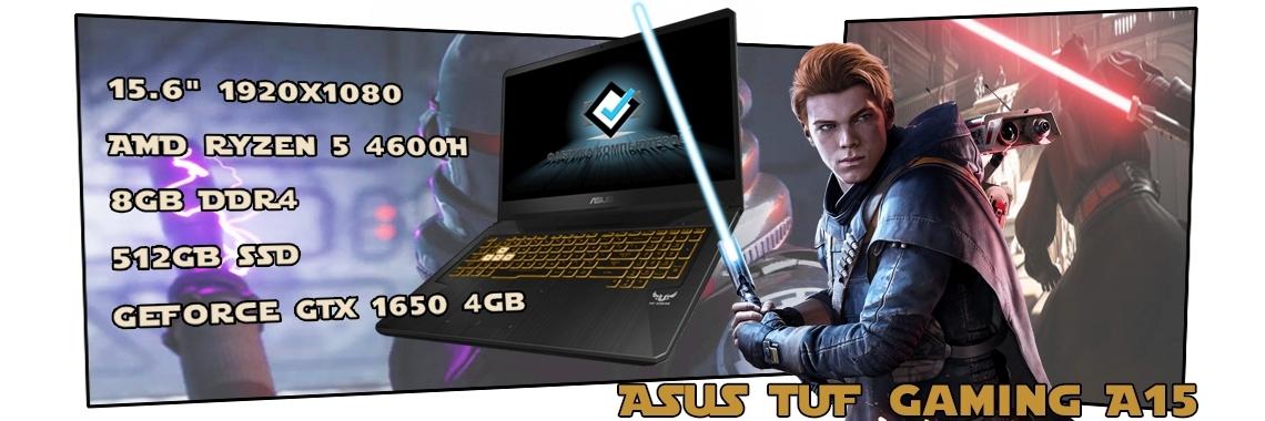Игровой ноутбук ASUS TUF Gaming A15 FX506IH-HN190