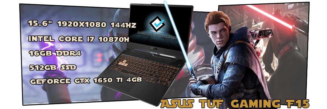 Игровой ноутбук ASUS TUF Gaming F15 FX506LI-HN109