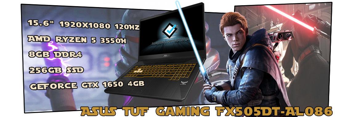 Игровой ноутбук ASUS TUF Gaming FX505DT-AL086