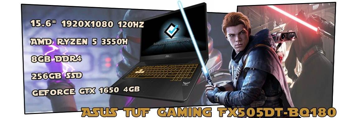 Игровой ноутбук ASUS TUF Gaming FX505DT-BQ180