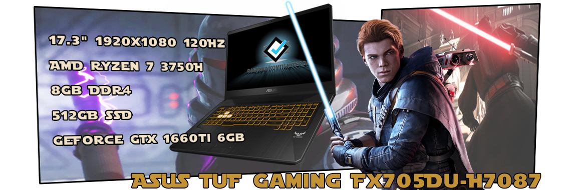 Ноутбук ASUS TUF Gaming FX705DU-H7087