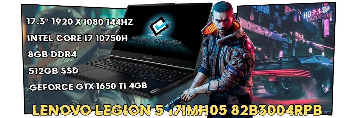 Игровой ноутбук Lenovo Legion 5 17IMH05 82B3004RPB