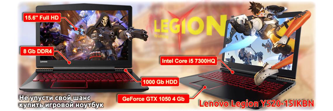 Ноутбук Lenovo Legion Y520-15IKBN [80WK01APPB]