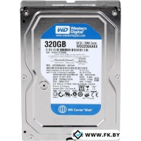 Жесткий диск WD Caviar Blue 320GB (WD3200AAKX)