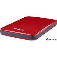 Внешний жесткий диск Toshiba Stor.e Canvio Red 500GB (HDTC705ER3AA)
