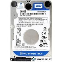 Жесткий диск WD Blue 500GB (WD5000LPVX)