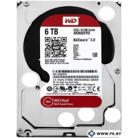 Жесткий диск WD Red 6TB (WD60EFRX)