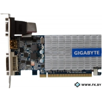 Видеокарта Gigabyte GeForce 210 1024MB DDR3 (GV-N210SL-1GI)