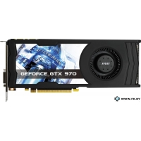 Видеокарта MSI GeForce GTX 970 OC 4GB GDDR5 (GTX 970 4GD5 OC)