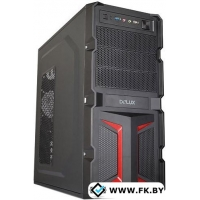 Корпус Delux DLC-MV888 Black/Red 450W