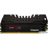 Оперативная память Kingston HyperX Beast 2x4GB KIT DDR3 PC3-19200 (HX324C11T3K2/8)