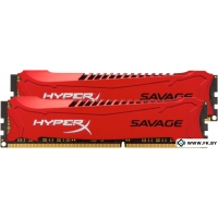 Оперативная память Kingston HyperX Savage 2x8GB KIT DDR3 PC3-14900 (HX318C9SRK2/16)