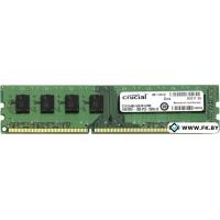 Оперативная память Crucial 4GB DDR3 PC3-12800 (CT51264BA160B)