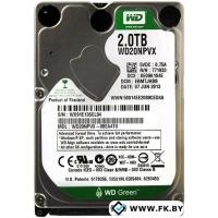Жесткий диск WD Green 2TB (WD20NPVX)
