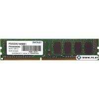 Оперативная память Patriot 2GB DDR3 PC3-12800 (PSD32G160081)