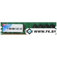 Оперативная память Patriot 1GB DDR2 PC2-6400 (PSD21G8002)