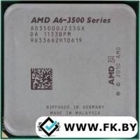 Процессор AMD A6-3500 (AD3500OJZ33GX)