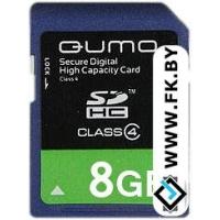 Карта памяти QUMO SDHC (Class 4) 8GB (QM8GSDHC4)