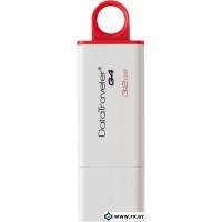 USB Flash Kingston DataTraveler G4 32GB Red (DTIG4/32GB)