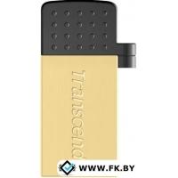 USB Flash Transcend JetFlash 380G 16GB Gold (TS16GJF380G)