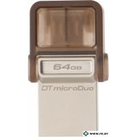 USB Flash Kingston DataTraveler microDuo 64GB (DTDUO/64GB)