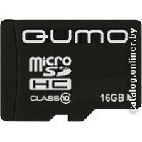 Карта памяти QUMO microSDHC (Class 10) 16GB (QM16GMICSDHC10)