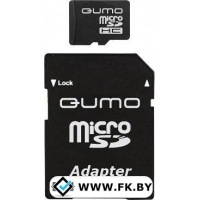 Карта памяти QUMO microSDHC (Class 10) 32GB (QM32GMICSDHC10)