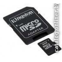 Карта памяти Kingston microSDHC (Class 10) 32GB +адаптер (SDC10/32GB)