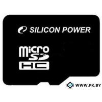 Карта памяти Silicon-Power microSDHC (Class 10) 8 Гб (SP008GBSTH010V10)