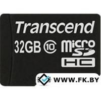 Карта памяти Transcend microSDHC Class 10 32 Гб (TS32GUSDC10)