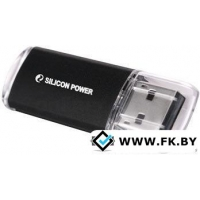 USB Flash Silicon-Power Ultima II I-Series Black 16 Гб (SP016GBUF2M01V1K), черный