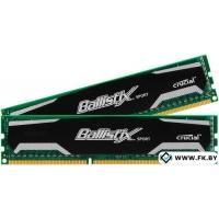 Оперативная память Crucial Ballistix Sport 2x4GB DDR3 PC3-12800 (BLS2CP4G3D1609DS1S00CEU)