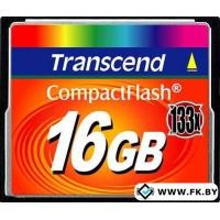 Карта памяти Transcend 133x CompactFlash 16 Гб (TS16GCF133)