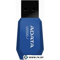 USB Flash A-Data DashDrive UV100 16Gb (AUV100-16G-RBL)