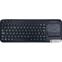 Клавиатура Logitech Wireless Touch Keyboard K400