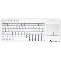 Клавиатура Logitech Wireless Touch Keyboard K400 White (920-005931)