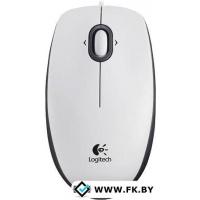 Мышь Logitech B100 Optical USB Mouse (910-003360) White