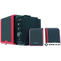 Акустика Microlab FC360 Red-Black