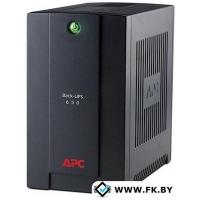 Источник бесперебойного питания APC Back-UPS 650VA Standby with Schuko (BC650-RS)