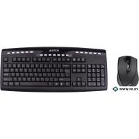 Мышь + клавиатура A4Tech 9200F Black