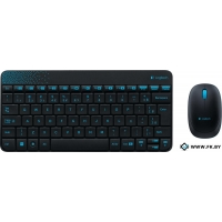 Мышь + клавиатура Logitech Wireless Combo MK240 Black