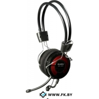 Гарнитура SVEN AP-540 Black+red