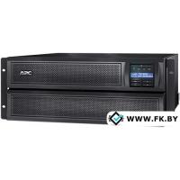 Источник бесперебойного питания APC Smart-UPS X 3000VA Rack/Tower LCD 200-240V (SMX3000HVNC)