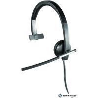 Гарнитура Logitech USB Headset Mono H650e (981-000513), Black