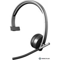 Гарнитура Logitech Wireless Headset Mono H820e, Black