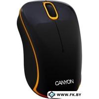 Мышь Canyon CNR-MSOW04NO Черный/Оранжевый