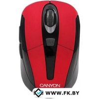 Мышь Canyon CNR-MSOW06R Red