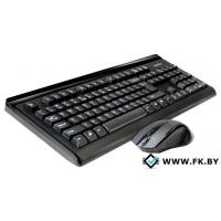 Мышь + клавиатура A4Tech 6100F Wireless Desktop