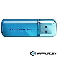 USB Flash Silicon-Power Helios 101 16 Гб (SP016GBUF2101V1B/N), голубой